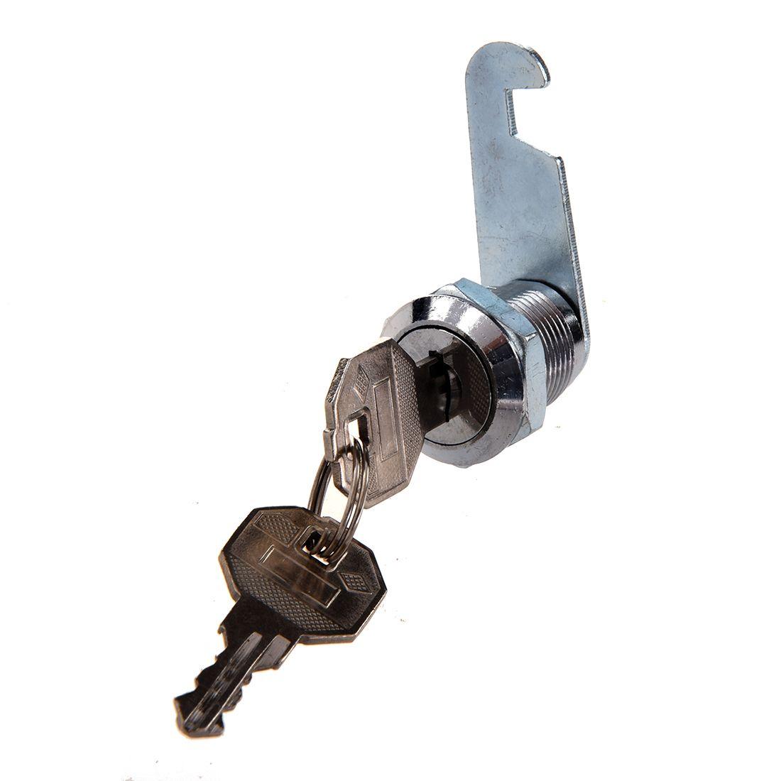 Hot Sale18 5mm Thread Metal Tubular Cam Lock For Cabinet Drawer Tool Box Tool Box Cabinet Drawers Sodial