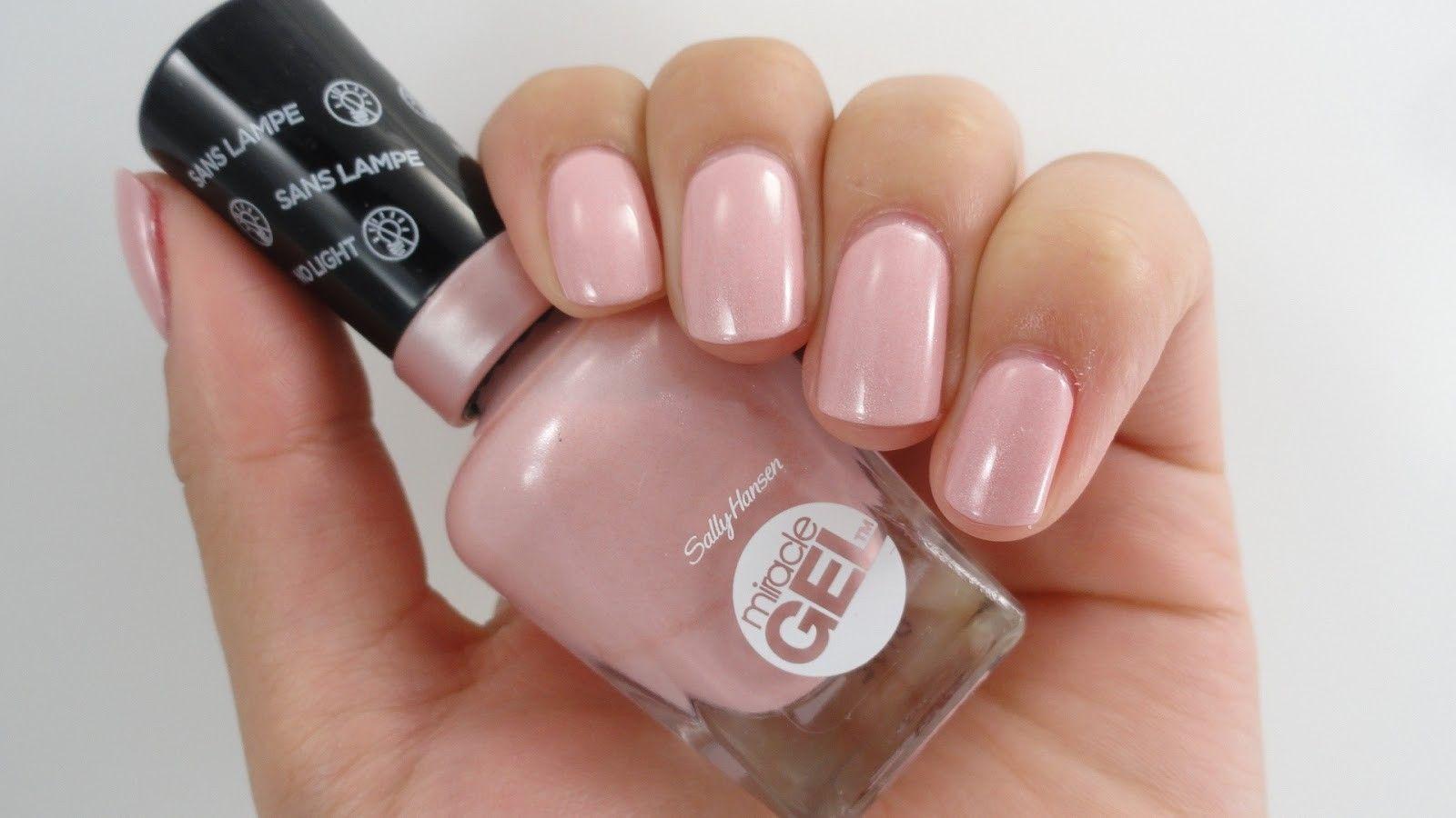 Sally hansen - regal rose - miracle gel nail polish | Nails