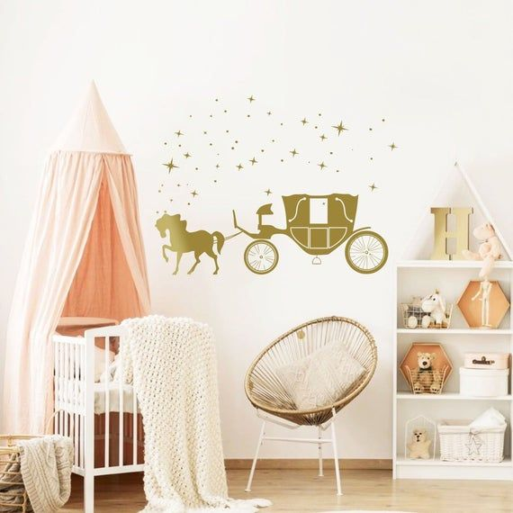 Photo of Sticker mural princesse – Petite princesse Wall St