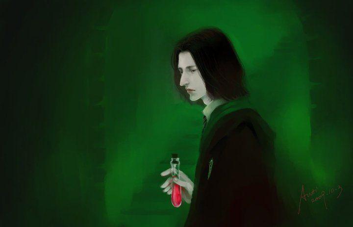 Harry Potter BlogHogwarts Fan Art Severus Snape (18)