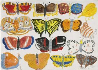Schmetterlinge By Max Raffler