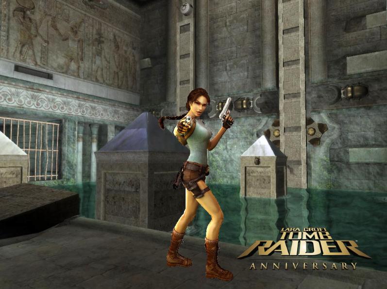 Lara Croft Tomb Raider Anniversary Wallpaper Background From Katies Site