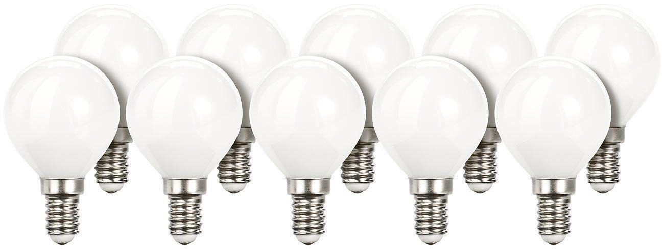 Luminea Retro Led Tropfen Retro Led Lampe G45 3 Watt E14 350 Lm 5000 K Wei 10er Set Leuchtmittel E14 Neutral Wei In 2020 Leuchtmittel Led Lampe Led