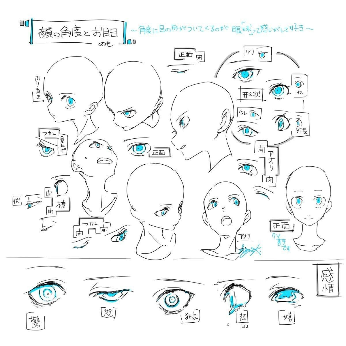 Head Amp Eyes Angles
