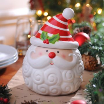 Santa Claus Cookie Jar Kirkland S Christmas Cookie Jars Santa Cookie Jar Christmas
