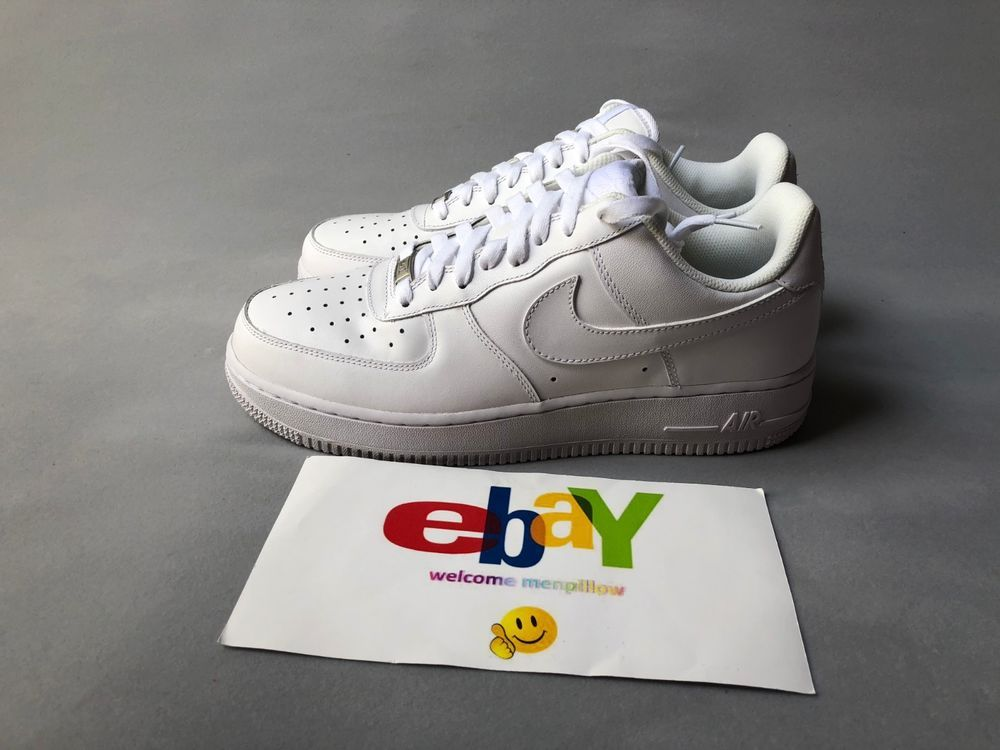 Nike Air Force 1 07 Low Mens All Triple White Classic 315122