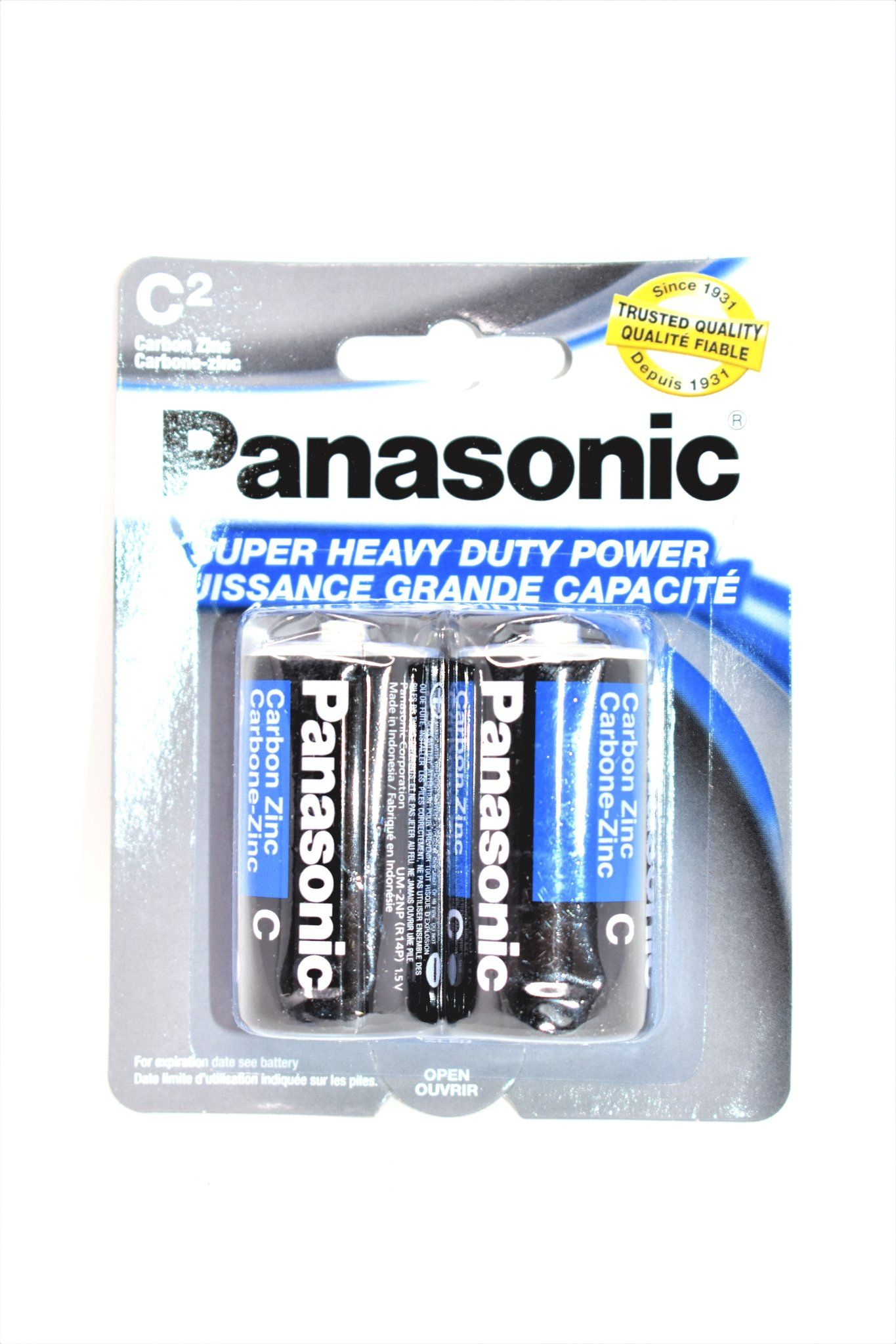 Panasonic C Super Heavy Duty Power Batteries 2 Ct Heavy Duty Panasonic Heavy