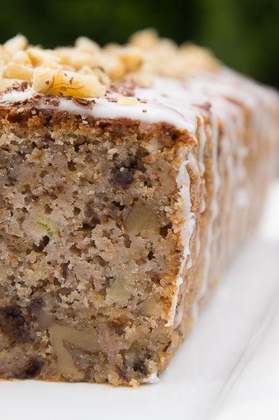 Banane Walnusse Schokolade Kuchen Sweets Kuchen