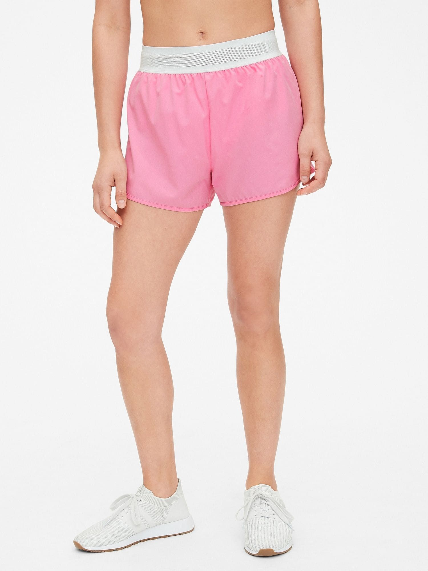 """GapFit 3"""" Running Shorts with Perforated Waistband"""