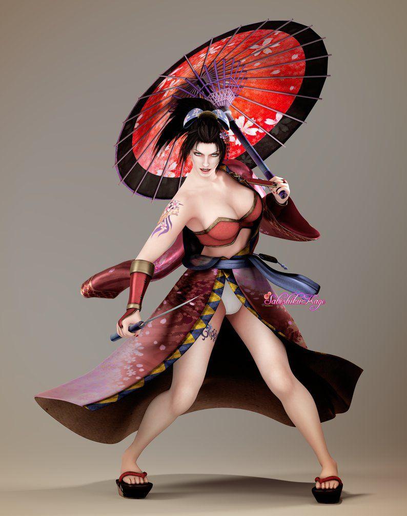 Soul calibur iv setsuka sexy geisha sabishikukage pac