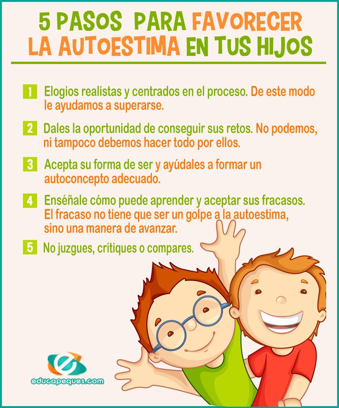 Autoestima infantil - Desarrollo de la autoestima en los niños | Autoestima  para niños, Educacion emocional infantil, Psicologia niños