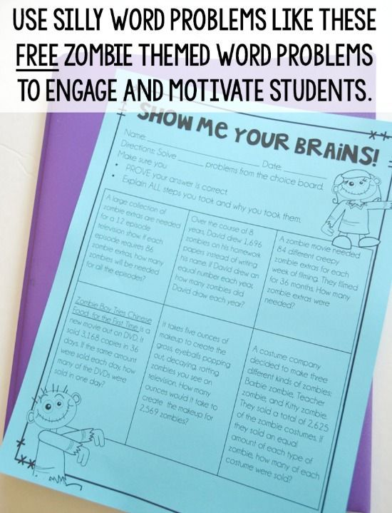 8 Ways to Help Students Be Successful with Word Problems in Upper ...