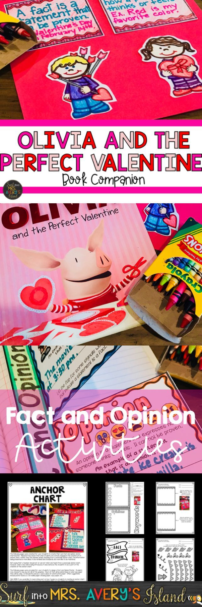 Teaching fact and opinion during the month of February?  If so, these fun activities are easy to integrate into your reading lesson plans and guaranteed to keep your students engaged.  Couple these fact and opinion activities with Olivia and the Perfect Valentine.  Click the link to take a look at the preview!