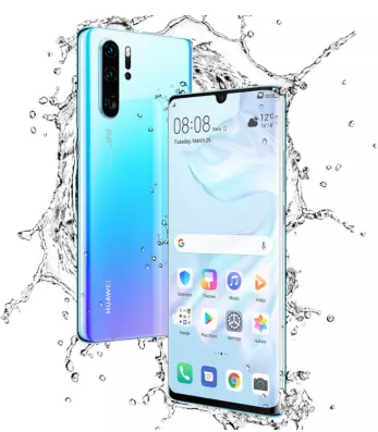 Huawei Launched P30 Pro With Kirin 980 Soc Processor Quad Rear Cameras Smartphone Huawei Cell Phone Camera