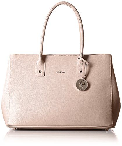 Pin Medium Satchel Bag in Moonstone Calfskin Furla x4O6wS