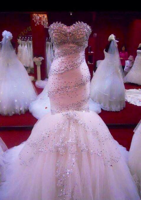 Would You Where A Pink Dress On Your Wedding Day
