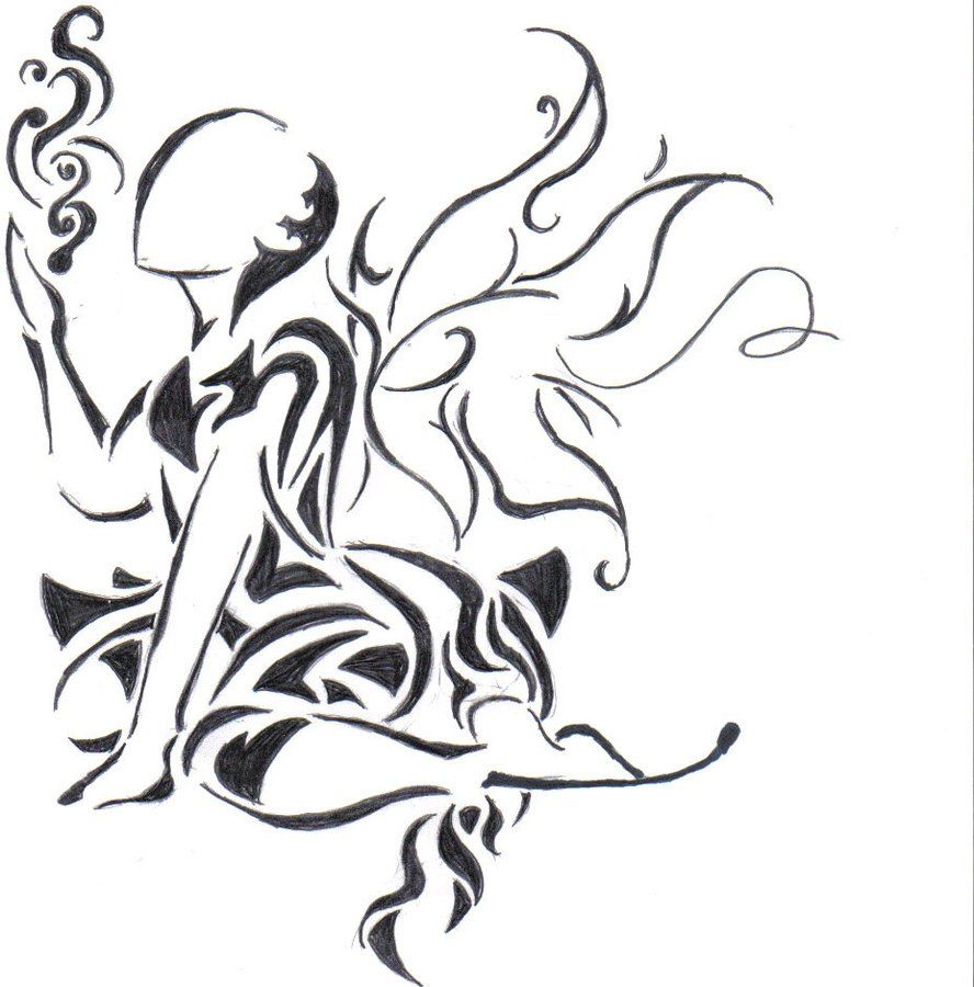 Tribal Fairy by fireryangel115 on DeviantArt | tatoo ...