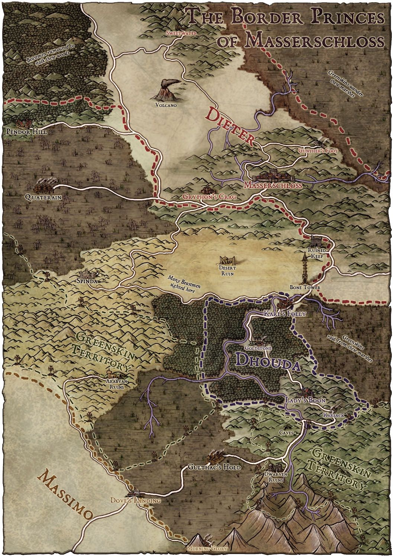 Warhammer Maps | The EggHead Hot Rod | Fantasy map, Map, Map design
