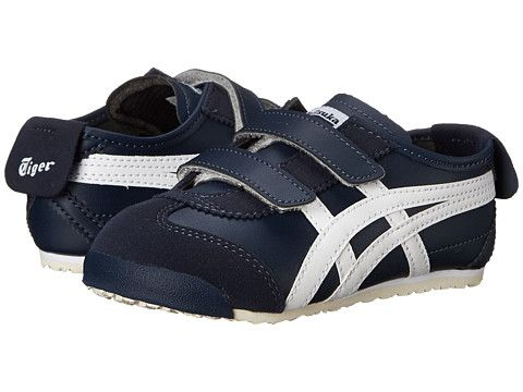 cheaper 2121c f3dbe Onitsuka Tiger Kids by Asics Mexico 66® (Toddler) Navy/White ...