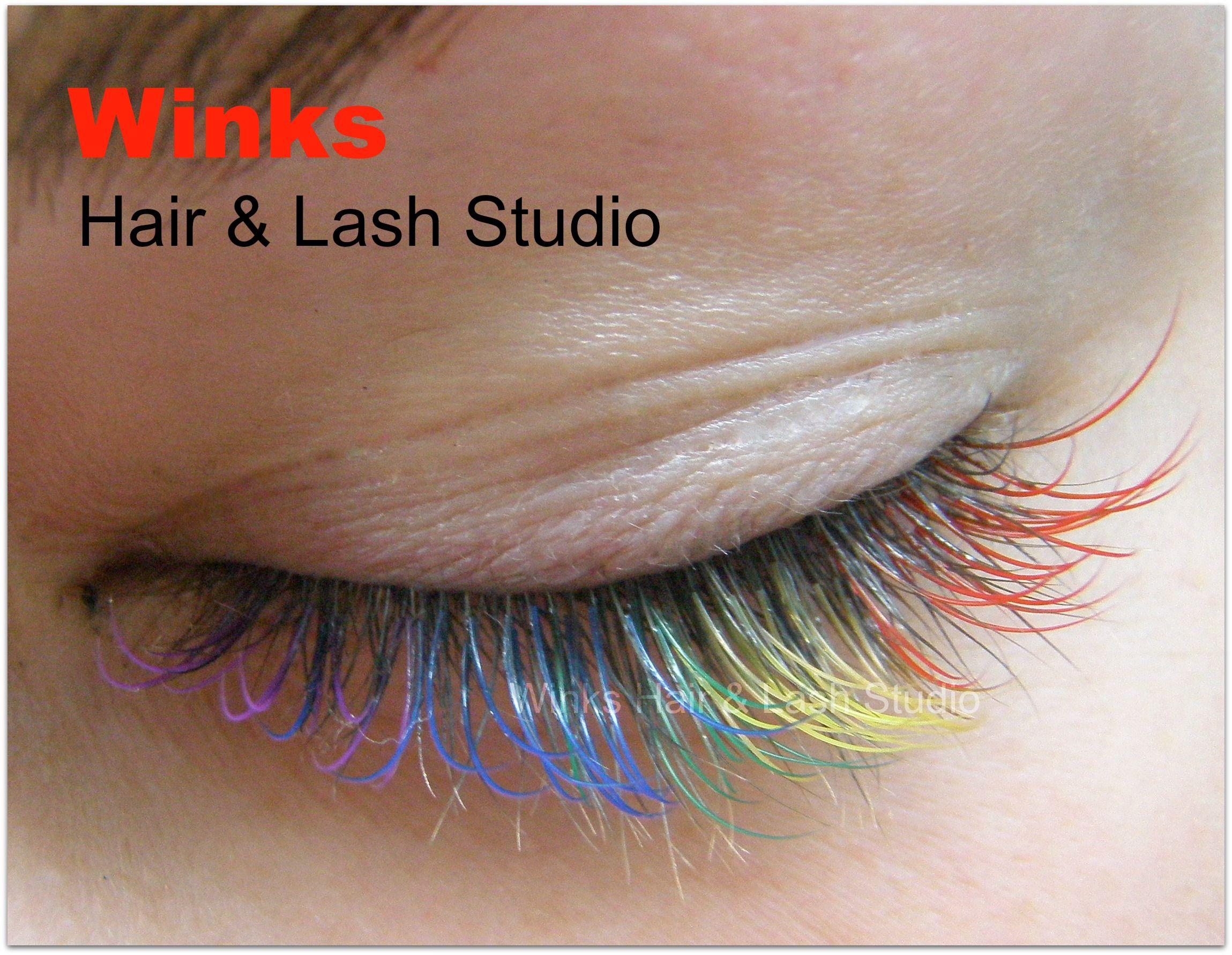 rainbow eyelash extensions | Eyelash Extensions Red Bank, NJ ...