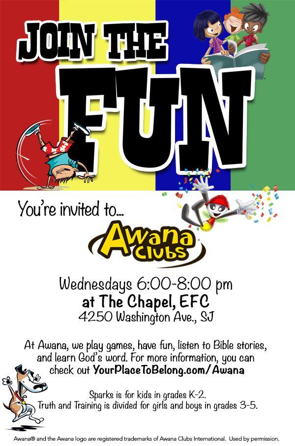 Awana Bring A Friend Invitation Bing Images