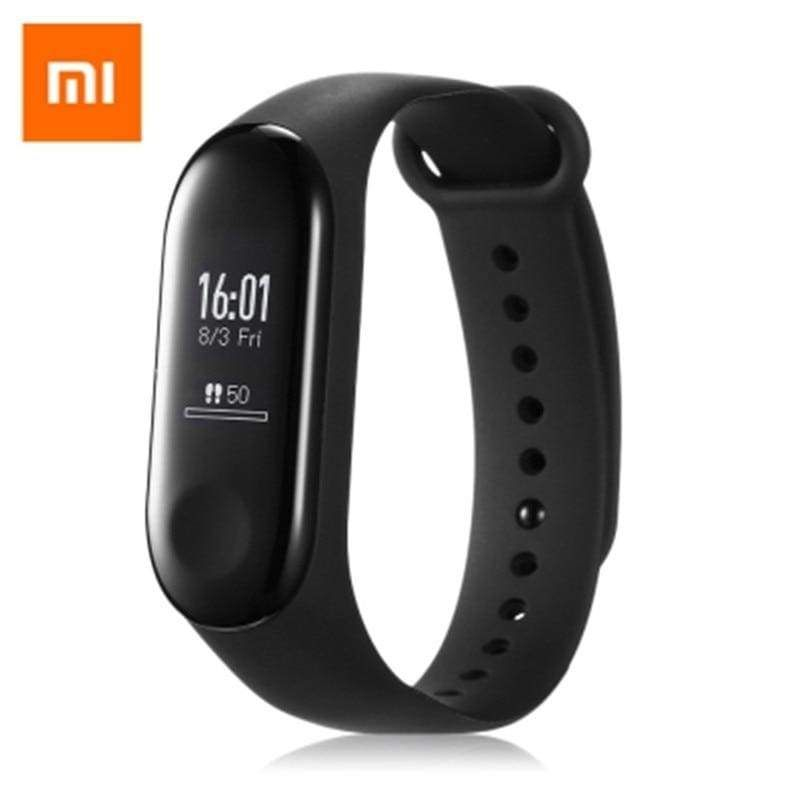Original Xiaomi Mi Band 3 Smart Fitness Tracker 50m Waterproof Smart Bracelet Fitness Wristband Xiaomi