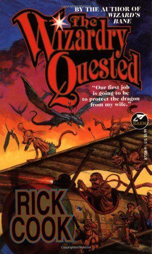 The Wizardry Quested by Rick Cook https://goo.gl/p7hYsi