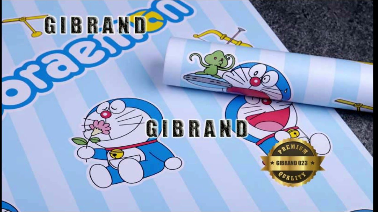 Wallpaper Stiker Dinding Doraemon
