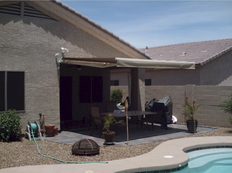 Awesome Retractable Awnings Phoenix