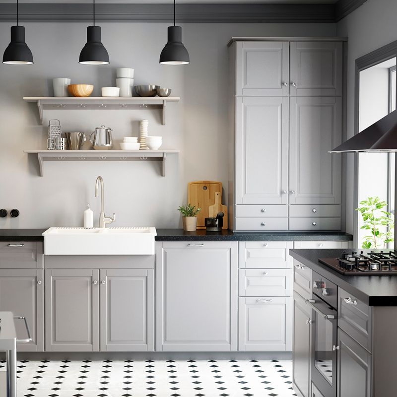Ikea Kitchen Bodbyn Grey: A Traditional Kitchen For Modern Life.