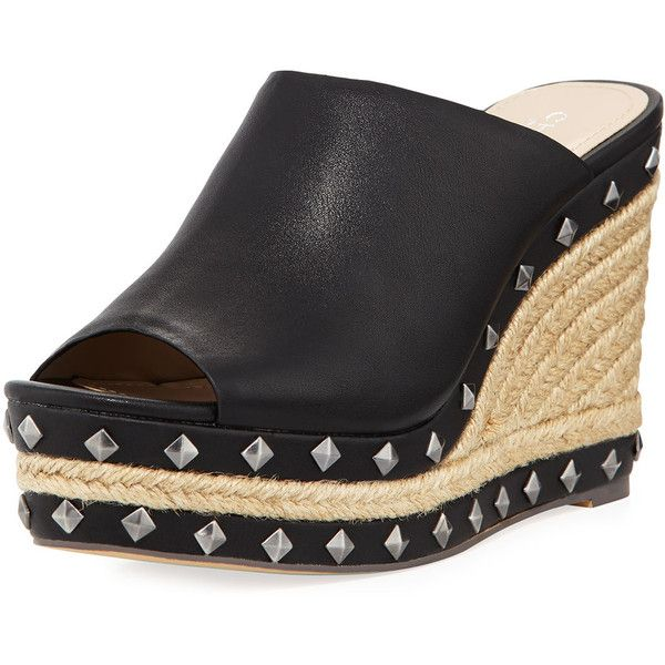 7b4ec978318 Charles By Charles David Lisbon Studded Espadrille Wedge Mule ($55 ...