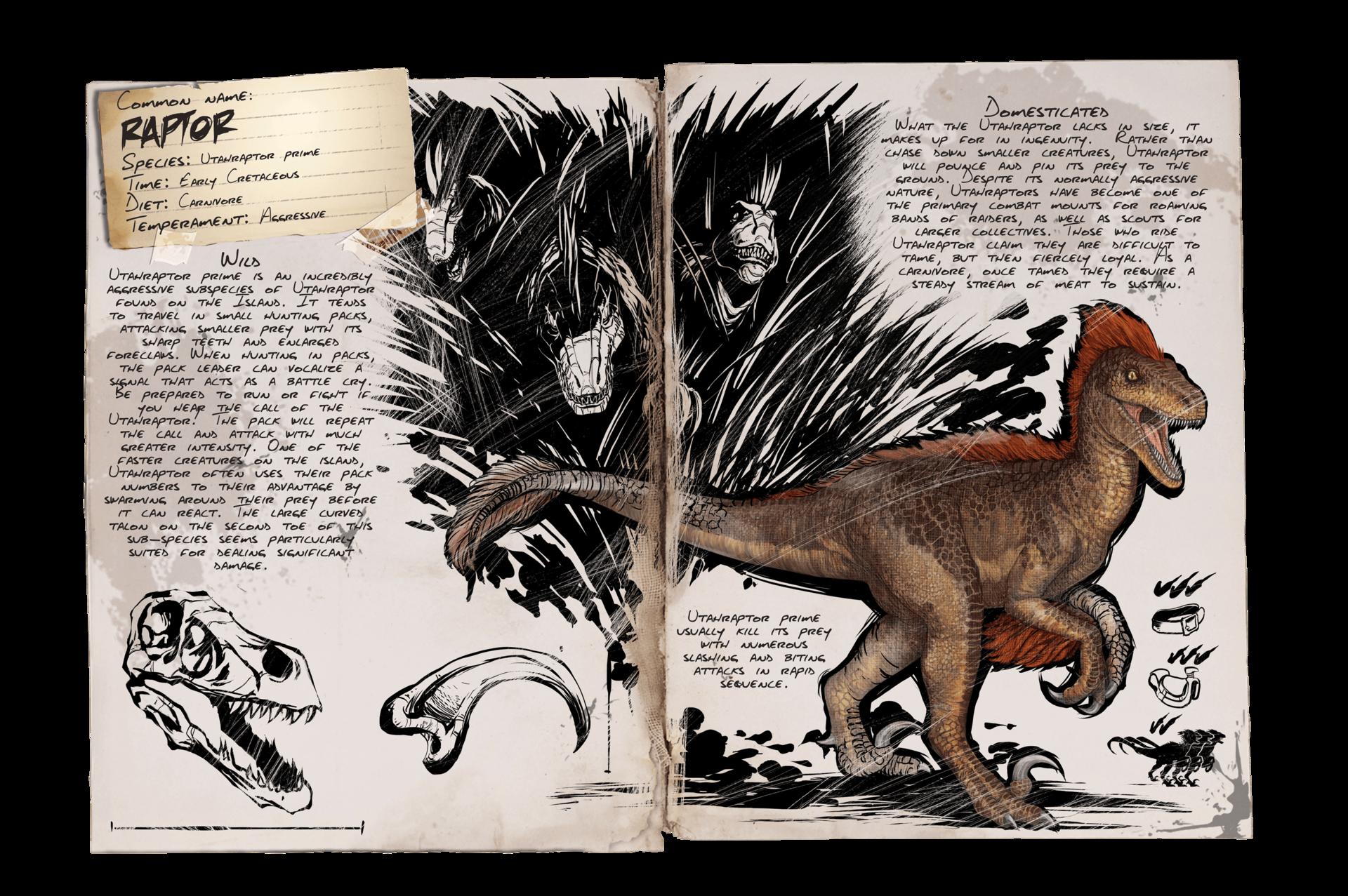 Raptor Official Ark Survival Evolved Wiki Ark Evolution Ark Survival Evolved Dinosaur Sketch