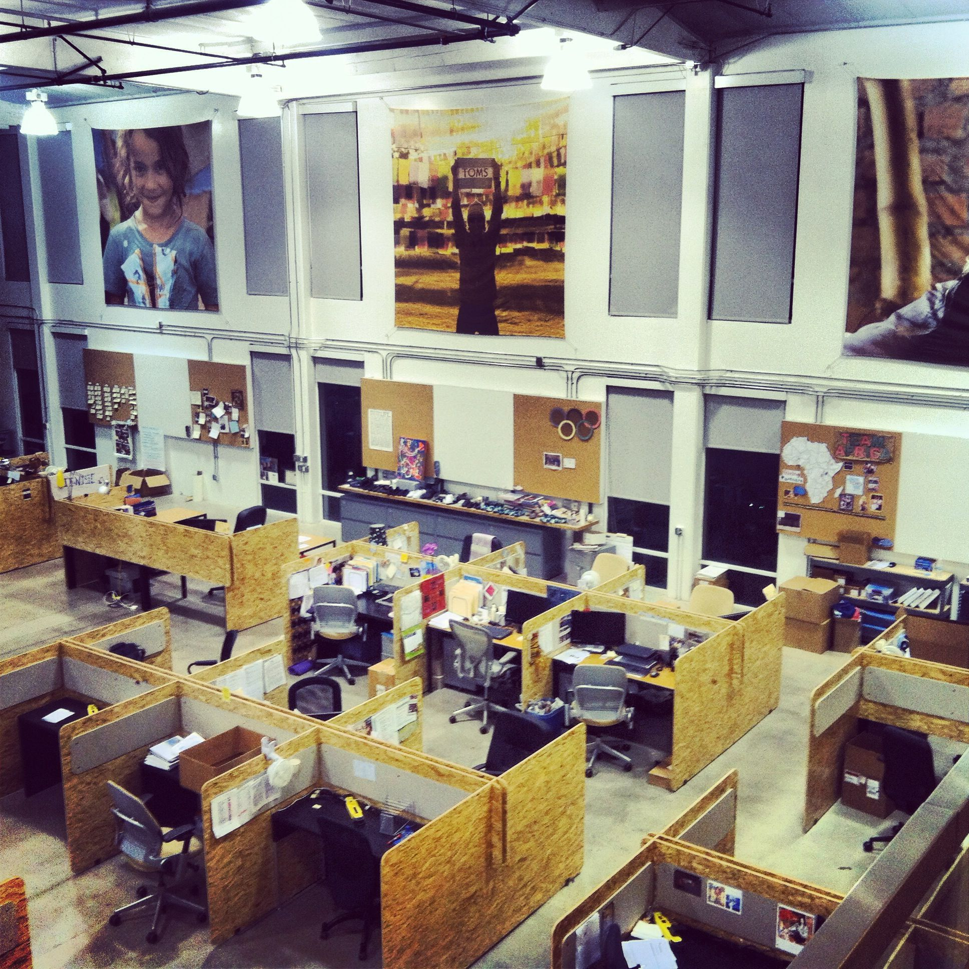 Toms Headquarters Love The Huge Pics Tom Shoesoffice
