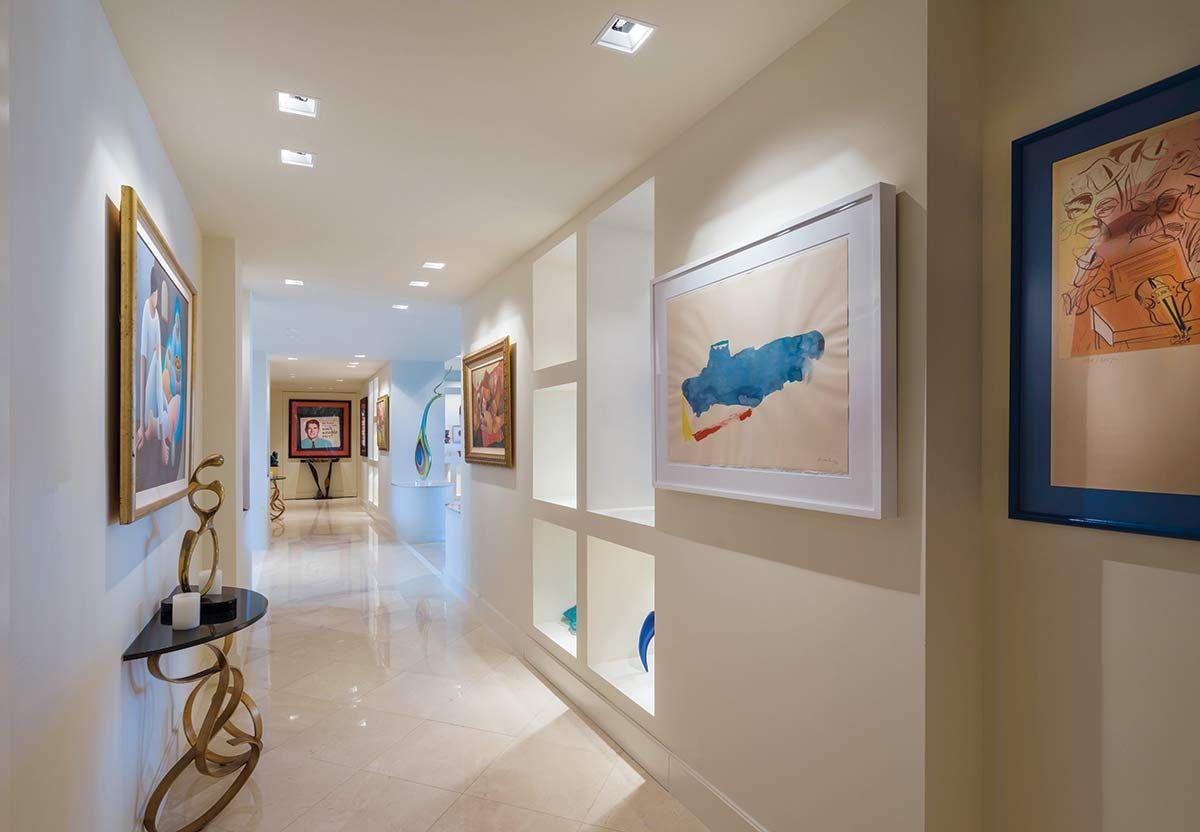 a work of art foyers and hallways florida design magazine rh pinterest com