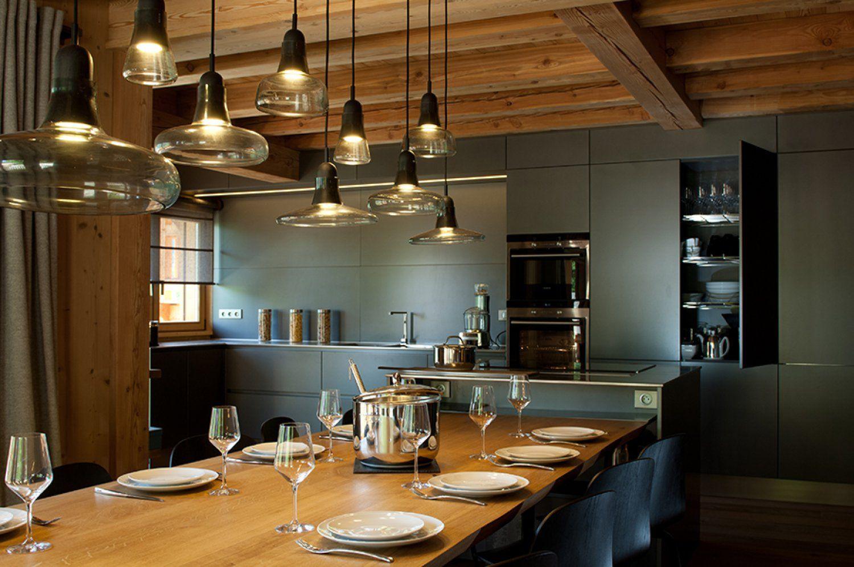 Conception cuisine chalet à Serre Chevalier - Chalets Bayrou ...