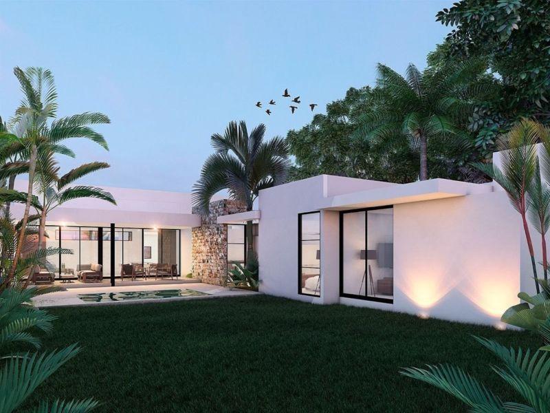 Casa En Venta De Una Planta En Dzitya Mérida Yucatán Yucatán Vivanuncios Casas En Venta Exteriores Caseros Casas