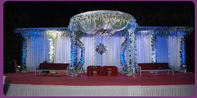 Themed wedding stages images