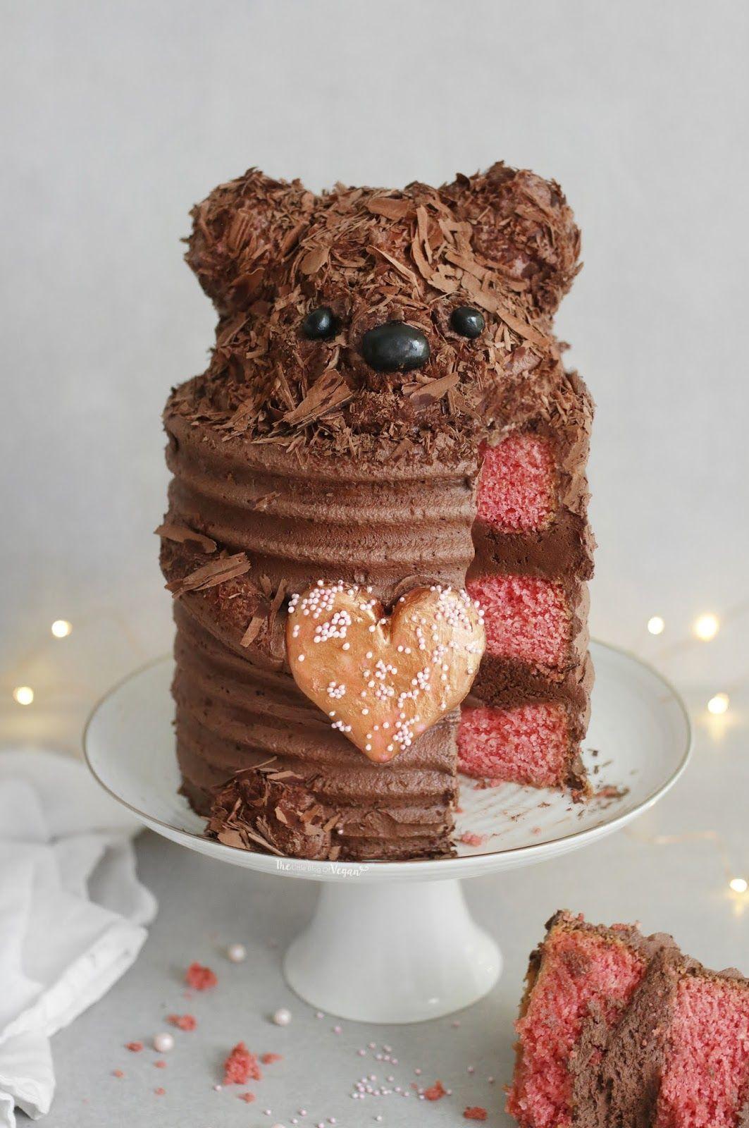 Chocolate bear cake recipe