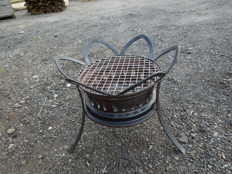 how to build a metal barbecue