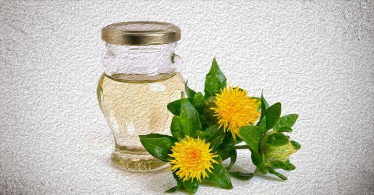 يوفر زيت العصفر أو القرطم الغني بحمض اللينوليك المفيد العديد من الفوائد لبشرتك يمكنه محاربة حب الشباب Oils For Skin Frankincense Essential Oil Skin Safflower