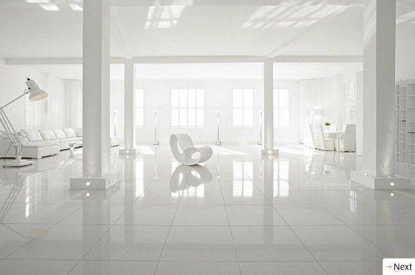 White Interior Decor home white. sparkling light white home on lone mountain s