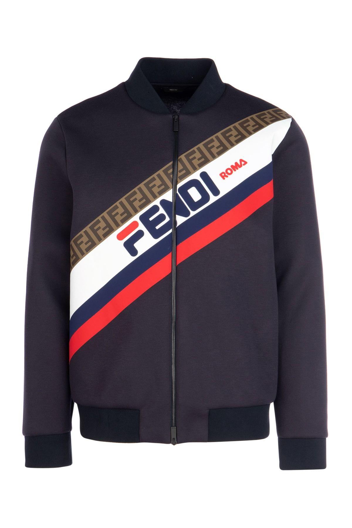 fecce93f1 FENDI FENDI x FILA 限量合作MANIA系列夹克.  fendi  cloth