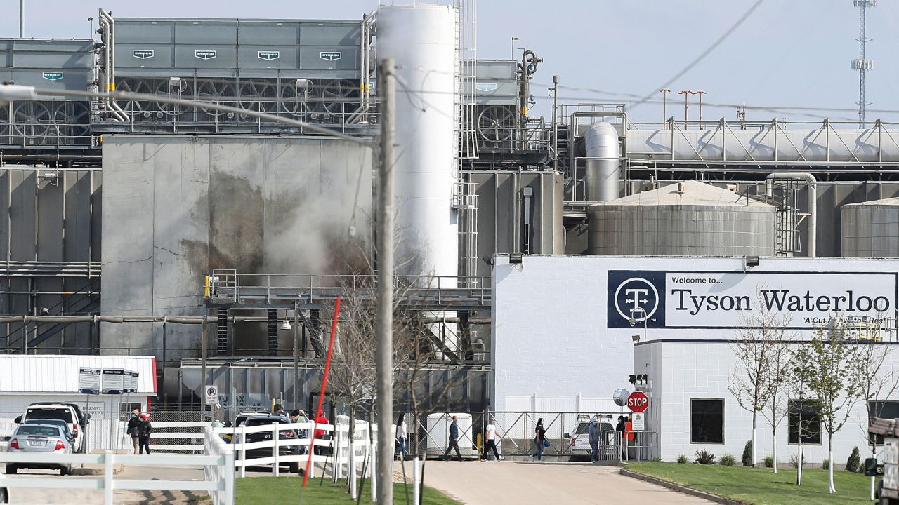 Families of 3 deceased workers sue Tyson over Iowa