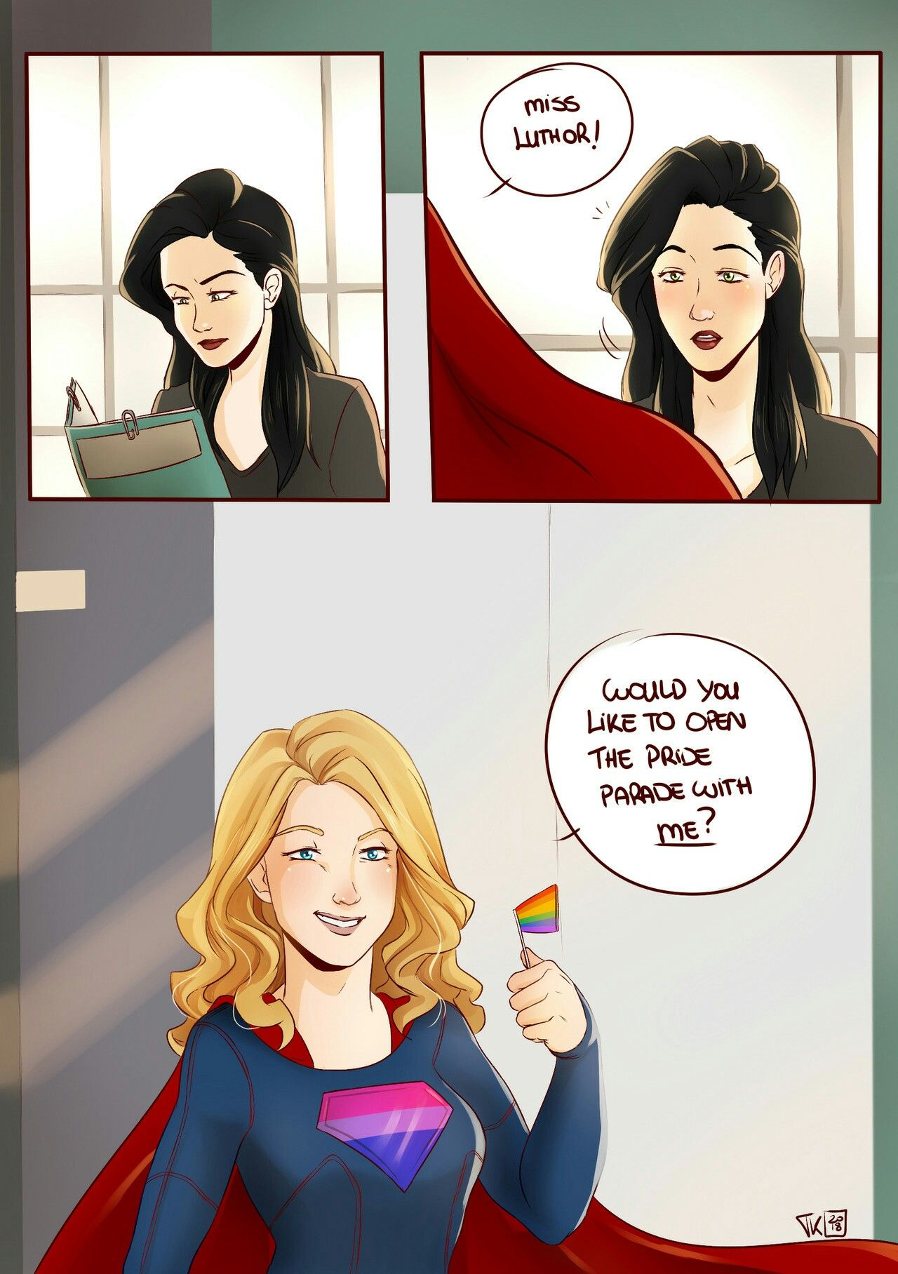 Pin By Theflashisawsome On Fanart Supergirl Comic Kara Danvers Supergirl Supergirl Tv