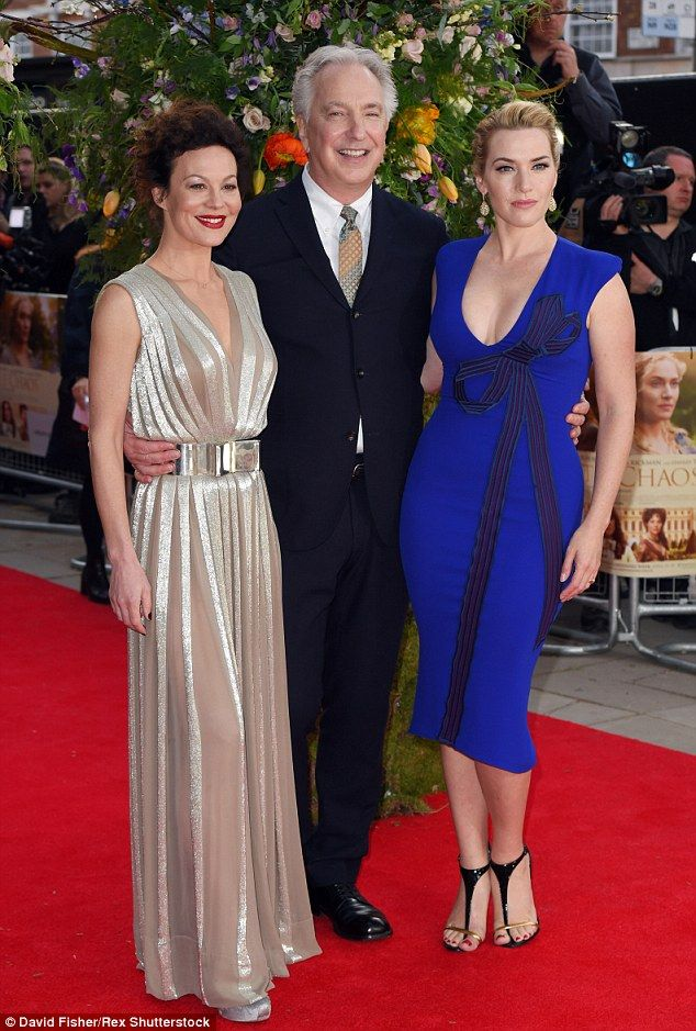 01e5e300dee Kate Winslet sports a VERY daring dress at A Little Chaos premiere   dailymail