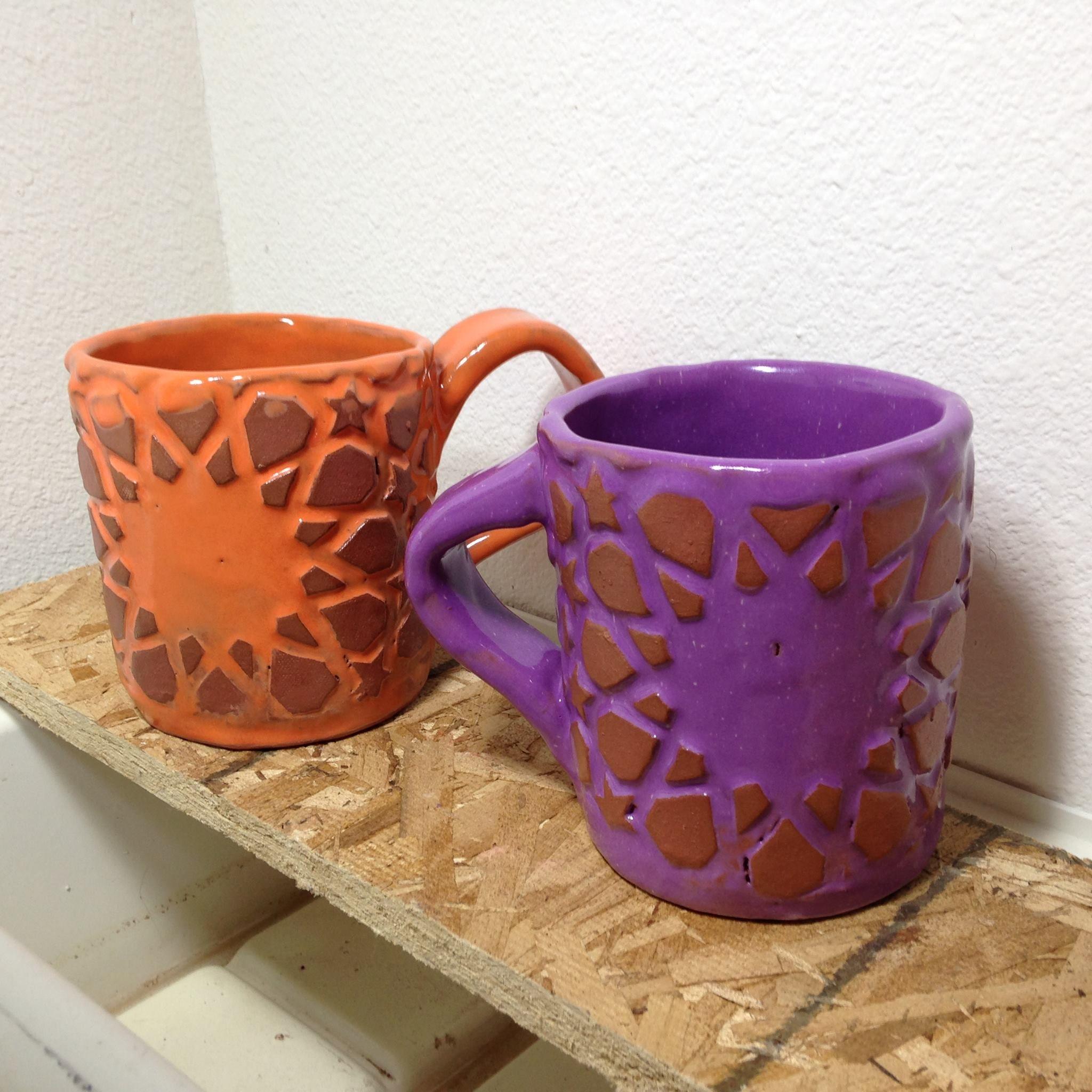 #Clay #ceramics #ironoxide #redclay #mug #coffecup