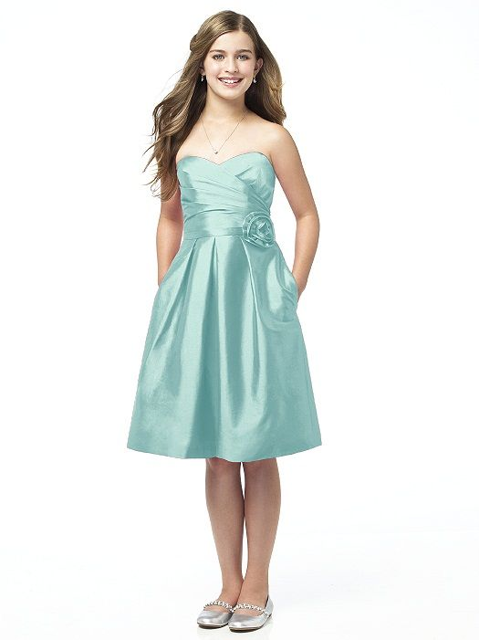 Alfred Sung Junior Bridesmaid style JR504 http://www.dessy.com ...