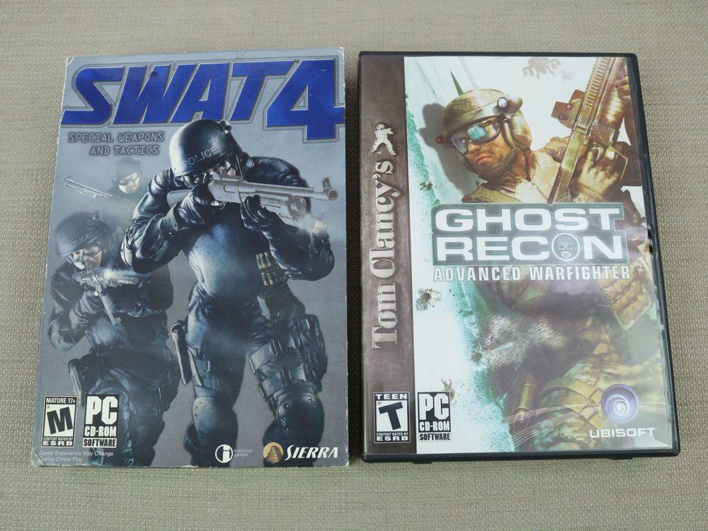 swat 4 pc 2005 includes 2 discs manual ghost recon games rh pinterest com Swat 4 Mods bt4 swat manual