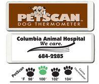 PetScan Dog Thermometer - Custom Printed/Reusable