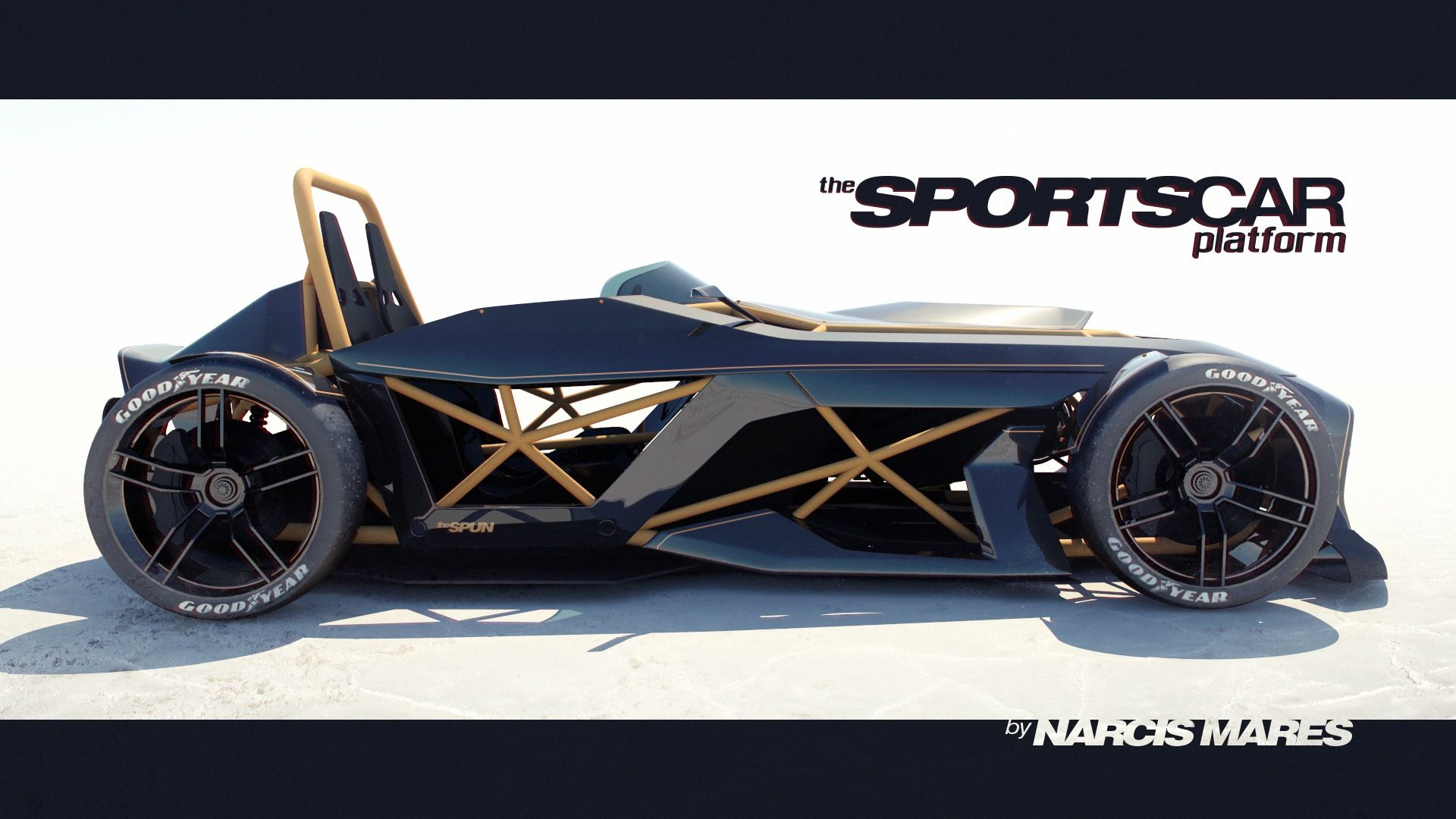 The Spun Open Frame Lightweight Track Car Spoon334 Narcismares Bmw I1 Is An Electric Singleseater Trikecar Concept By Designer Lmsportscar Cardesign